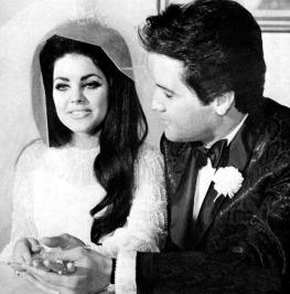 Elvis and Priscilla's Wedding May 1, 1967 (1)